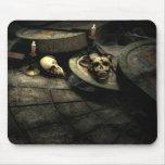 Arte gótico Mousepad del ámbito de las muertes Alfombrilla De Ratón