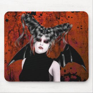 Arte gótico Mousepad del vampiro de la rabia hermo Tapetes De Raton