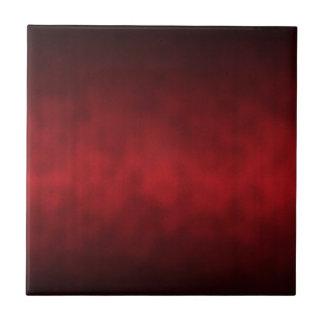 Arte gótico rojo del fondo de Ombre Azulejo Cuadrado Pequeño
