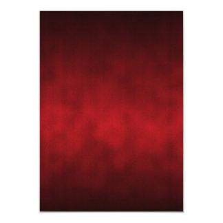"""Arte gótico rojo del fondo de Ombre Invitación 5"""" X 7"""""""