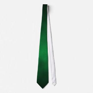 Arte gótico verde del fondo de Ombre Corbata Personalizada