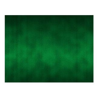 Arte gótico verde del fondo de Ombre Postal