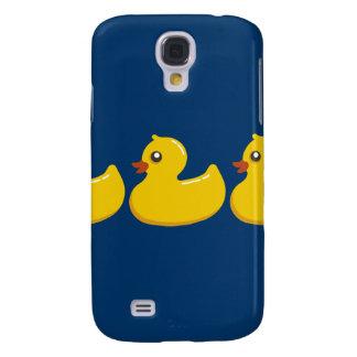 Arte gráfico de goma amarillo de Duckie