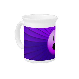 Arte gráfico de la conciencia púrpura del dolor jarras