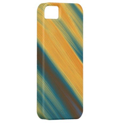 Arte gráfico de los colores de la pintura caliente iPhone 5 carcasas