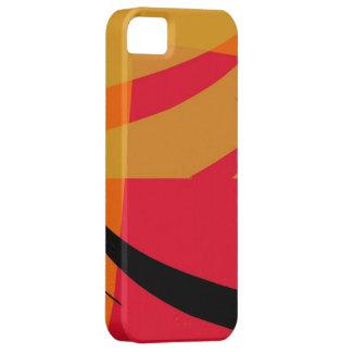 Arte gráfico moderno abstracto iPhone 5 carcasas