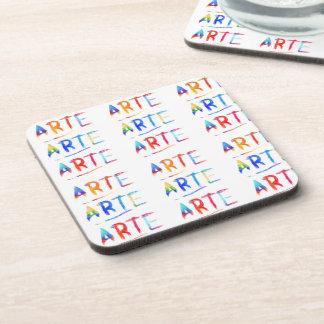 Arte Grafitti Drink Coaster