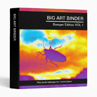 """Arte grande 054 (el 1in) el insecto psicodélico carpeta 1"""""""