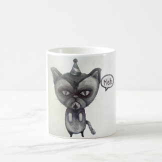 arte gruñón de la taza de café del té del fiesta