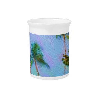 Arte hawaiano jarrón