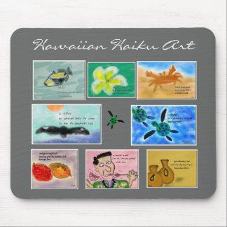 Arte hawaiano Mousepad del Haiku