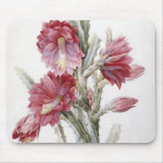 Arte hermoso de la acuarela de la floración del tapete de ratón