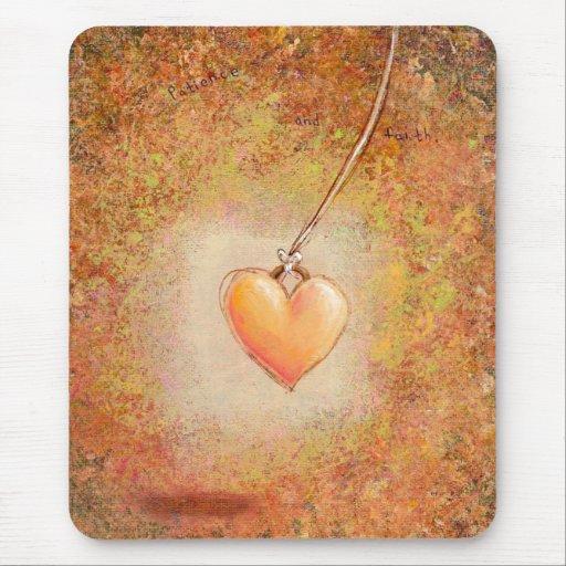 Arte hermoso de la pintura de la fe de la mousepad