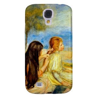 Arte hermoso de la pintura de Renoir de la playa d