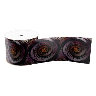 Arte hipnótico púrpura y negro del remolino