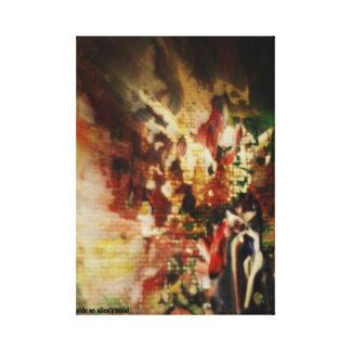 Arte, hogar, decoración, lona, fotografía, Tacchi Lona Envuelta Para Galerias