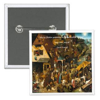 Arte holandés del siglo XVI y proverbio famoso