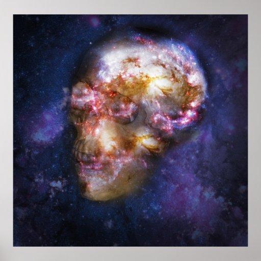 Arte humano del espacio del cráneo