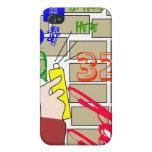 arte i de la pintada iPhone 4/4S fundas
