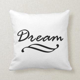 Arte ideal de la palabra de la cita almohadas