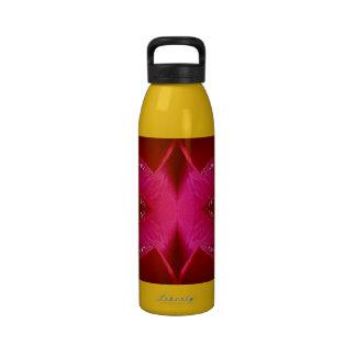 Arte ideal del colector - gráficos del pétalo colo botella de beber
