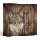 arte ideal indio nativo rústico del lobo del colec