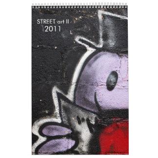 Arte II de la CALLE Calendarios