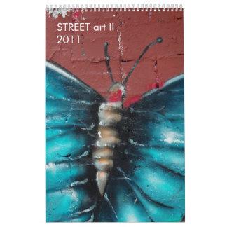 Arte II de la CALLE Calendarios De Pared