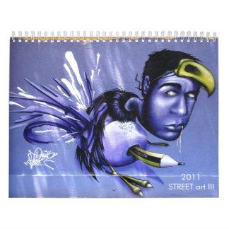 Arte III de la CALLE Calendario