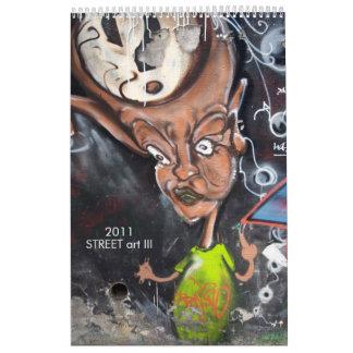 Arte III de la CALLE Calendario De Pared
