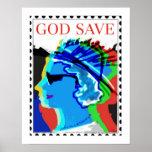 Arte/impresión del poster de la reserva de dios…