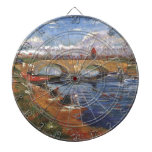 Arte impresionista del vintage del pintor de Van G Tablero Dardos