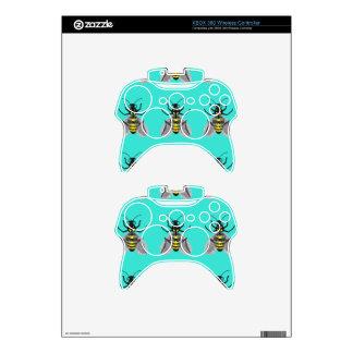 Arte inalámbrico de la piel w/Bee del regulador de Mando Xbox 360 Skin