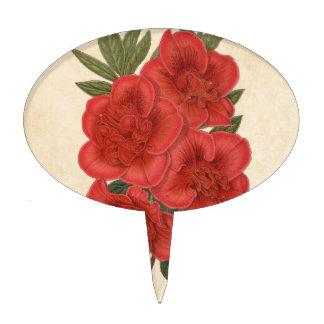 Arte Indica de las flores de la azalea Decoraciones De Tartas