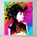 Arte industrial del surrealismo del miedo creativo poster