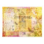 Arte inspirado del verso de la biblia del 10:13 de postal