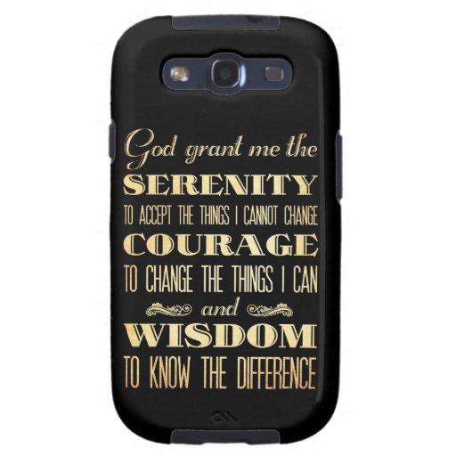 Arte inspirado - dios Grant Serinity Galaxy S3 Cárcasa