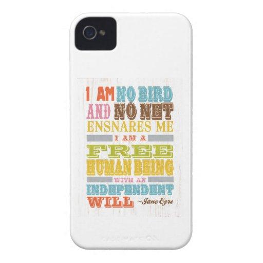 Arte inspirado - Jane Eyre iPhone 4 Case-Mate Cárcasas