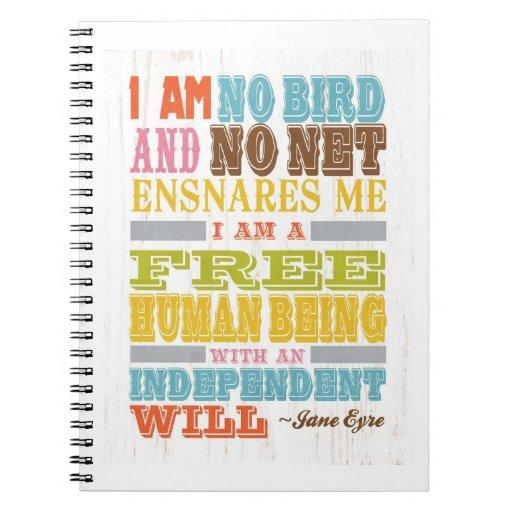 Arte inspirado - Jane Eyre Libro De Apuntes