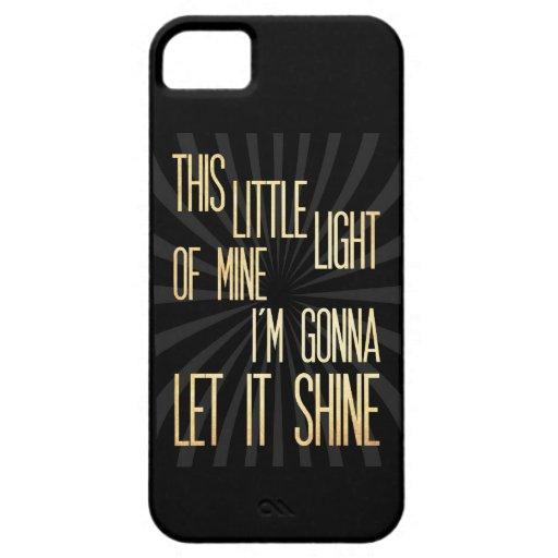 Arte inspirado - poca luz iPhone 5 carcasas