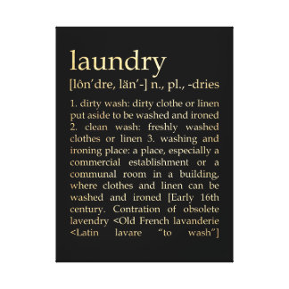 Arte inspirado - proceso del lavadero impresion en lona