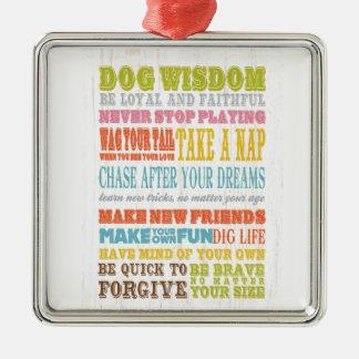 Arte inspirado - sabiduría del perro ornatos
