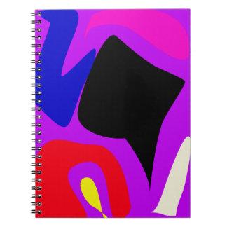 Arte intrépido del contraste cuadernos