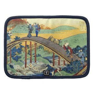 Arte japonés de Hokusai 17/100 ciento poemas Fuji Planificadores
