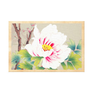 Arte japonés de la flor de la camelia rosada de Zu