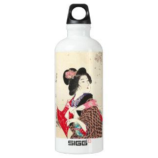 Arte japonés de la señora de la mujer de Suzuki