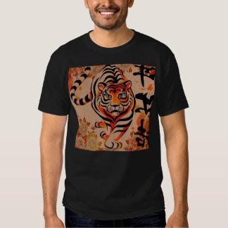 arte japonés del tigre poleras