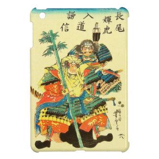 Arte japonés - dos samurais en armadura llena de