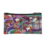 Arte japonés fresco de las señoras del geisha del