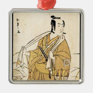 Arte japonés fresco del tatuaje del samurai del ornamente de reyes